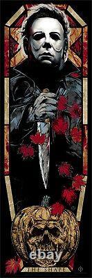 Rhys Cooper The Shape Halloween Movie Poster Art Print Le #/150 Mondo H40 Vendu