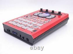 Roland Sp-404sx (rouge) Excellente Condition 10e Anniversaire Édition Limitée #0419m