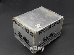 Rollei 35 S Argent Limited Edition Feuilles De Chêne USA Exportation Conditions Menthe