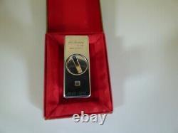 S T Dupont Edition Limitée Jubile Essence Lighter-original Box État De La Monnaie