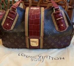 Sac À Main Exotique Louis Vuitton Griet Mirage. État Parfait -shipped Avec Usps