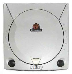 Sega Dreamcast Silver Limited Edition Console Japon Grande Condition