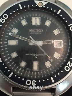 Seiko 6105-8110 Automatique De 6105b-8009t Original État De Travail Dec / 76 Vgc