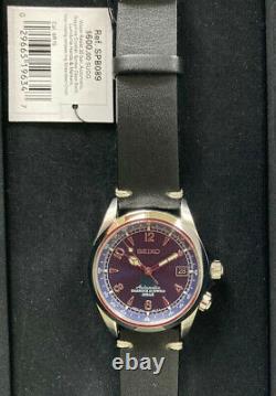 Seiko Alpinist Spb089 Blue Us Limited Edition. Superbe État. Tous Les Papiers/boîte
