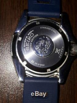 Seiko Prospex Blue Lagoon Samurai Srpb09 Édition Limitée Mint Etat Rare