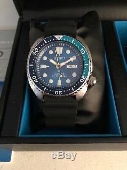 Seiko Srpb11 Blue Lagoon Turtle Boxed, Papiers, État Neuf, Édition Limitée
