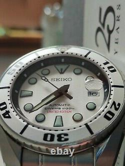 Seiko Sumo Silver Spb029j1 Sapphire Edition Limitée Conditions De La Monnaie