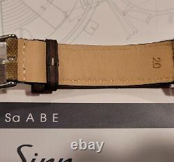 Sinn 104 St Sa A B E Special Limited Edition Ensemble Complet/comme Nouvelle Condition