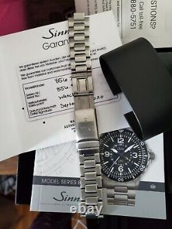 Sinn 856 I B Tegimented (limited Production) Excellente Condition Complète + Extra