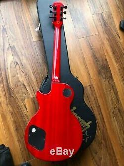 Slash Ltd Edition Snakepit Les Paul Classique Signature Guitare Excellent État
