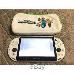 Sony Ps Vita Minecraft Special Limited Edition Bonne Condition