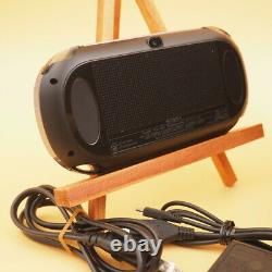 Sony Ps Vita Pch-1000 / 1100 Modèle Noir Oled Wi-fi Avec Chargeur En Bon État