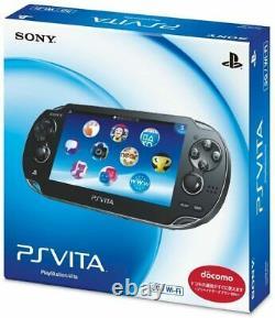 Sony Ps Vita Pch-1000 / 1100 Noir Modèle Oled Wi-fi Avec Boîte De Menthe Condition