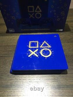 Sony Ps4 Slim 500 Go Days Of Play Edition Limitée Rare Excellent État
