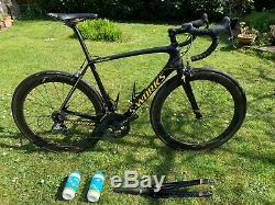 Specialized S-works Tarmac Sl5 Ltd Edition Immaculée Condition Zipp 404 Taille 56
