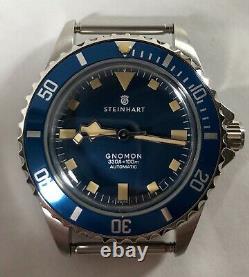 Steinhart Ocean 39 Marine Blue Gnomon Limited Edition 1 De 200 Mint Condition