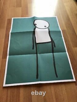 Stik 2011 Ne Paniquez Pas Poster Édition Limitée Bleu Excellent État