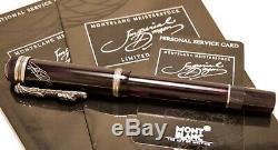 Stylo Plume Montblanc Imperial Dragon Limited Edition Usagé Etat Faible ££££