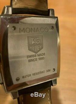 Tag Heuer Monaco Automatique Cw2113. Fc6183 Grand État Avec Boite Et Papiers