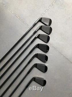 Taylor Made P790 Noir Edition Limitée Golf Irons 4-pw Excellent État
