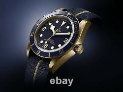 Tudor Black Bay Bronze Bucherer Edition Unworn 2019 État De La Monnaie