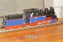 Ürf18 Lgb Locomotive À Vapeur Nicki Et Frank S, Art. C'est Pas Vrai. 24266 Condition Du Dessus En Boîte