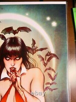 Vampirella # 1 Jenny Frisson Virgin Variante En Nm + Condition Ltd À 50 Exemplaires