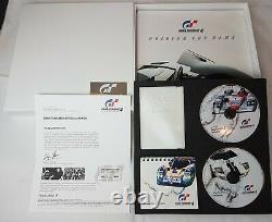 Véritable Gran Turismo 4 Gt4 Ps2 Limited Edition Dossier De Presse Mint Condition
