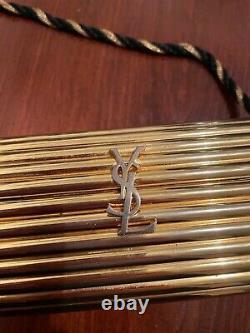 Vieux Sac Ysl Gold Minaudière. Pas De Tassels Sinon Très Bon État
