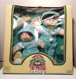 Vintage Cabbage Patch Twins Édition Limitée Avec La Boîte Exc. État