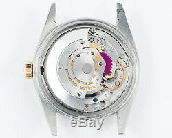 Vintage Rolex Datejust Deux Tons 1601 Avec Perfect Sigma Dial! Condition Excellente