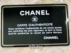 Vtg Chanel Black Patchwork Sac D'épaule En Cuir Avec Tassel État Parfait