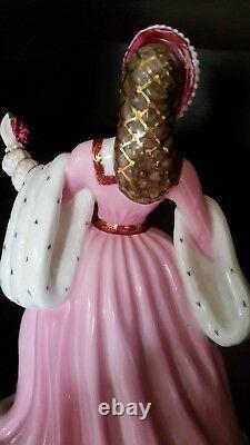 Wedgwood Fine Bone Chine Anne Boleyn Limited Edition. État Parfait