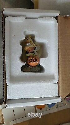 Winnie The Pooh Calender Ornamental (danbury Mint) Excellent État, Ensemble Complet