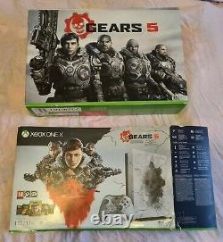 Xbox One X 1 To Gears Of War Limited Edition Console Excellent Etat