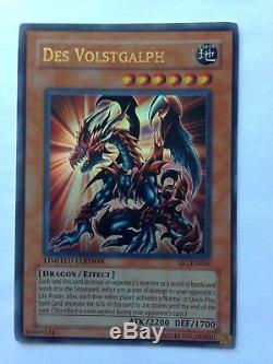 Yugioh Des Volstgalph Sjc-en002 État D'esprit Édition Limitée