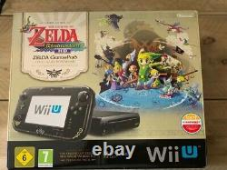 Zelda Windwaker Wii U Console Limited Edition Boxed Très Bon État