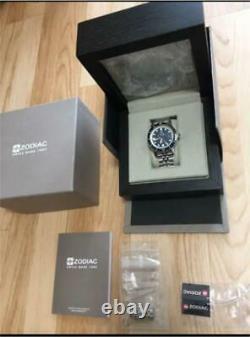Zodiac Diver's Watch Super Sea Wolf 53 Zo9266 Swiss Made Bon État