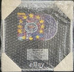 Zooropa U2 Mondiale Première Version Numéroté Cadre État Rare & Mint